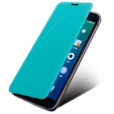 Mofi Phone Cover PU Case Skin with Stand Function for Meizu MeiBlue Note