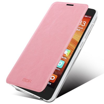 Фотография Mofi Phone Cover PU Case Skin with Stand Function for Xiaomi Redmi 2