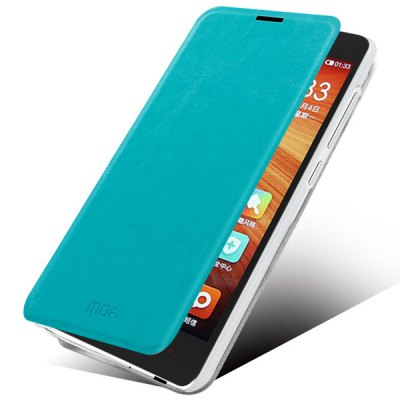 Mofi Phone Cover PU Case Skin with Stand Function for Xiaomi Redmi 2