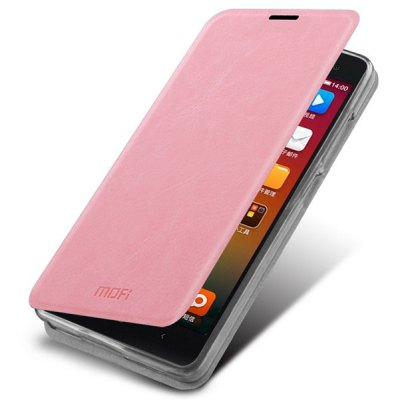 Mofi Phone Cover PU Case Skin with Stand Function for Xiaomi 4