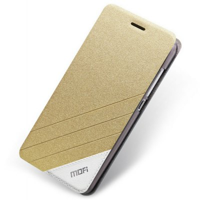 Mofi Phone Cover PU Case Skin with Stand Function for Xiaomi Note