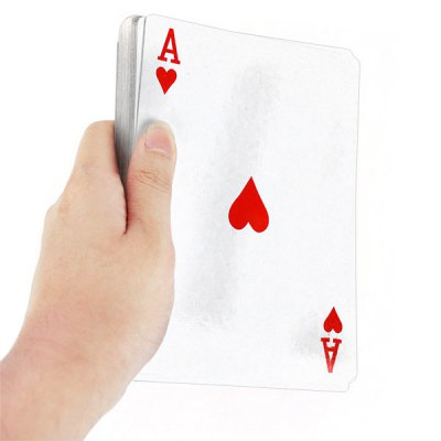 54 Pieces Jumbo Poker Cards Innovative Giant Paper Playing Card