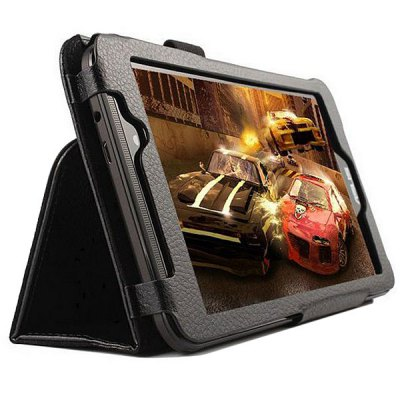 Гаджет   Elegant Lichee Pattern Foldable Flip Leather Case with Stand Function for ASUS Fonepad 7 FE7010CG Tablet PCs
