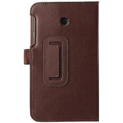 Elegant Lichee Pattern Foldable Flip Leather Case with Stand Function for ASUS Fonepad 7 FE7010CG