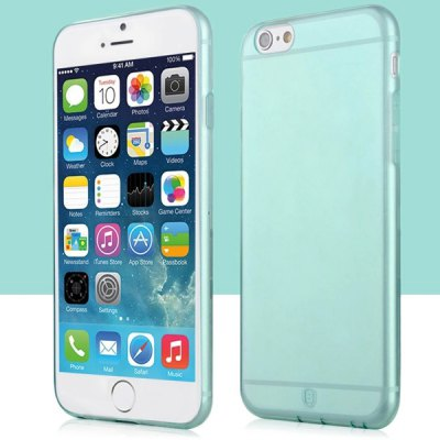 Baseus Transparent TPU Material Ultrathin Back Case for iPhone 6 Plus  -  5.5 inches