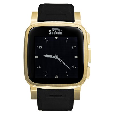 Snopow W1 1.6 inch Touch Screen Smart Watch Phone - SnopowSmart Watch Phone<br>Snopow W1 1.6 inch Touch Screen Smart Watch Phone<br><br>Brand: Snopow<br>Type: Watch Phone<br>External memory: TF card up to 8GB (not included)<br>Network type: GSM<br>Frequency: GSM850/900/1800/1900MHz<br>Bluetooth: Yes<br>Screen type: Capacitive<br>Camera type: Single camera<br>Front camera: 2.0MP<br>SIM Card Slot: Single SIM<br>TF Card Slot: Yes<br>Micro USB Slot: Yes<br>Picture format: JPEG, GIF, PNG, BMP<br>Music format: WAV, MP3<br>Video format: MP4, 3GP<br>Languages: English,French,Spanish, Polish,Portuguese,Italian,Russian,German, Arabic<br>Additional Features: MP4, MP3, Bluetooth<br>Cell Phone: 1<br>Battery: 610mAh Battery<br>Power Adapter: 1<br>USB Cable: 1<br>Screwdriver: 1<br>User Manual: 1<br>Product size: 4.5 x 4.5 x 1.55 cm / 1.77 x 1.77 x 0.61 inches<br>Package size: 17.0 x 12.0 x 9.0 cm / 6.68 x 4.72 x 3.54 inches<br>Product weight: 0.117 kg<br>Package weight: 0.500 kg