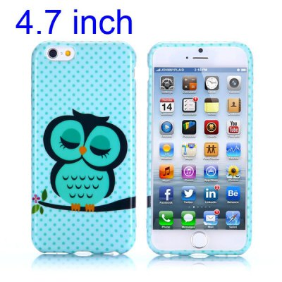 Купить iPhone Cases/Covers   Owl Pattern 4.7 inch TPU Cover Case Protector Skin for iPhone 6