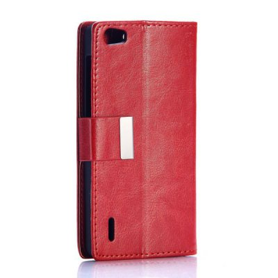 Business Style Crystal Grain Pattern Card Slots PU Leather Full Body Case for Huawei Honor 6Cases &amp; Leather<br>Business Style Crystal Grain Pattern Card Slots PU Leather Full Body Case for Huawei Honor 6<br><br>Compatible models: Huawei Honor 6<br>Features: With Credit Card Holder, Anti-knock, Dirt-resistant, Full Body Cases, Cases with Stand<br>Material: PU Leather, PC<br>Style: Solid Color, Novelty<br>Color: Plum, Wine red, Black, White, Red<br>Product weight: 0.040 kg<br>Package weight: 0.08 kg<br>Product size (L x W x H) : 14 x 7 x 1 cm / 5.50 x 2.75 x 0.39 inches<br>Package size (L x W x H): 15 x 8 x 2 cm / 5.90 x 3.14 x 0.79 inches<br>Package Contents: 1 x Case