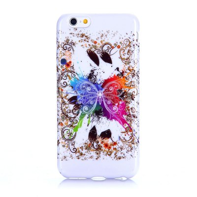 Фотография Butterfly Pattern 4.7 inch TPU Cover Case Protector Skin for iPhone 6