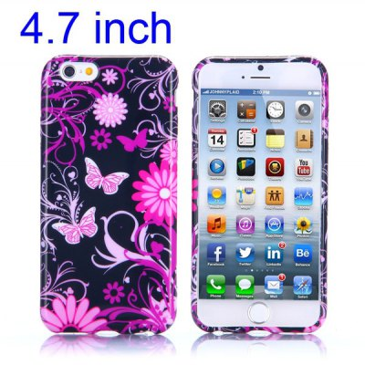 Butterfly Pattern 4.7 inch TPU Cover Case Protector Skin for iPhone 6