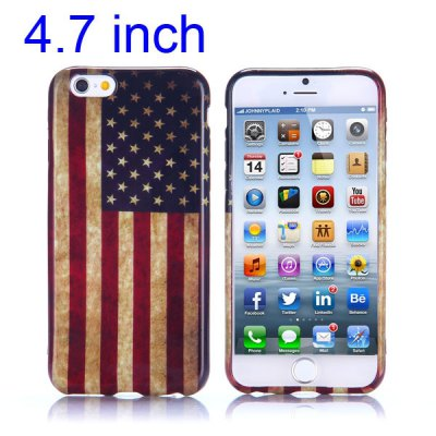 Гаджет   National Flag Pattern 4.7 inch TPU Cover Case Protector Skin for iPhone 6 iPhone Cases/Covers