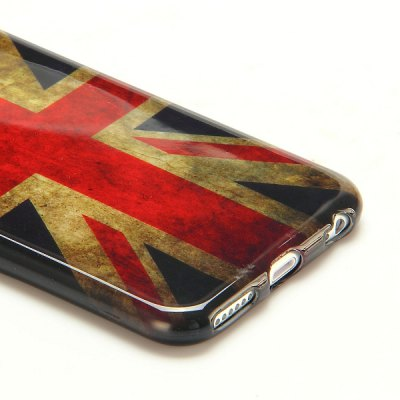 Фотография National Flag Pattern 4.7 inch TPU Cover Case Protector Skin for iPhone 6