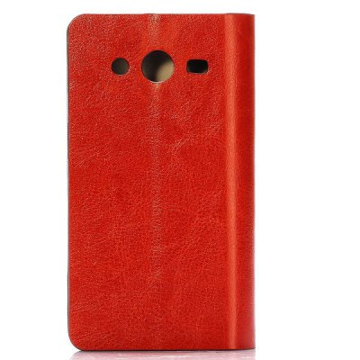 Гаджет   PU Leather Card Holder Full Body Case for Samsung G355H G3559 Galaxy Core 2 Samsung Cases/Covers