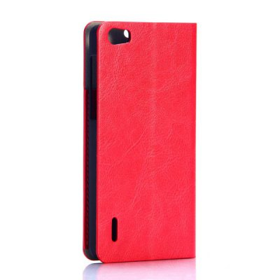 Гаджет   Leisure Wallet Style PU Leather Full Body Case for Huawei Honor 6 Other Cases/Covers