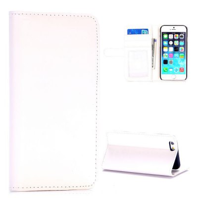 Гаджет   4.7 inch Phone Cover PC + PU Case Protector with Card Holder Stand Function for iPhone 6