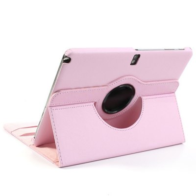 360 Rotating Flip Elastic Belt Litchi Texture Leather Case with Stand Function for Samsung Galaxy Note 10.1 2014 Edition