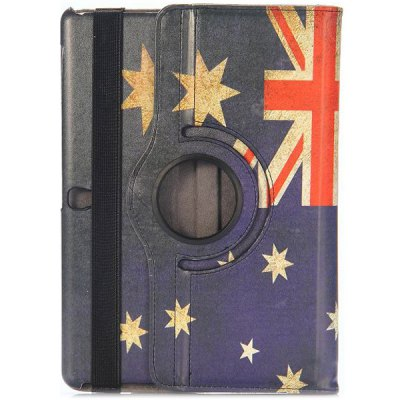 360 Rotating Side Flip Elastic Belt Stand PU Leather Case with Union Jack Pattern for Samsung Galaxy Tab S 10.5 T800 T805