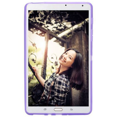 Simple Style X Shape Design Gel TPU Tablet PC Case for Samsung Galaxy Tab S 8.4 T700 / T705