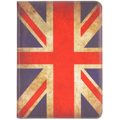 Фотография Foldable Folio Card Slots Stand Leather Case with Union Flag Pattern for Samsung Galaxy Note 10.1 2014 Edition P600