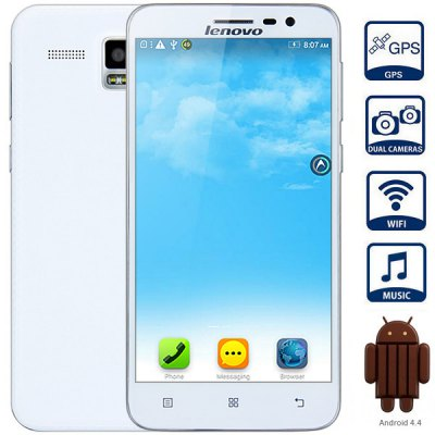 Lenovo A8 ( A808T ) 5.0 inch Android 4.4 Phablet
