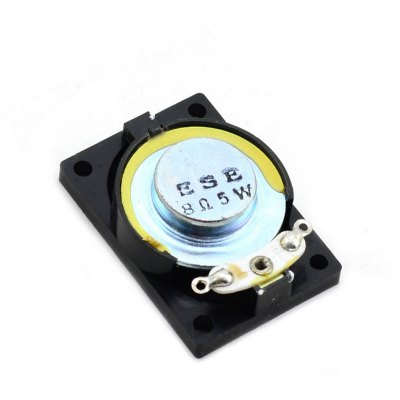 Jtron Full Function 5W 8Ohm 28 x 40mm Notebook Speaker for DIY Projects