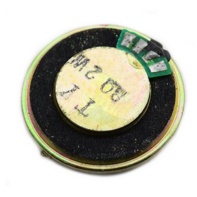 Jtron Plastic + Iron DIY 8Ohm 2W 28mm HiFi Round Speaker