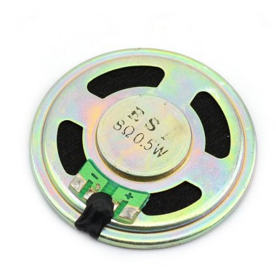 Jtron DIY 8Ohm 0.5W Mobile DVD Small Round Speaker