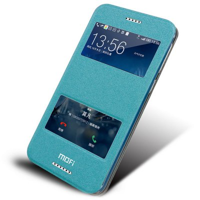 Mofi Phone Cover PU Case Skin with Window Stand Function for HTC Desire 820