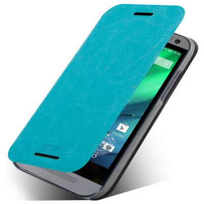 Гаджет   Mofi Phone Cover PU Case Skin with Stand Function for HTC One M8 Mini Other Cases/Covers