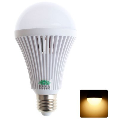 Zweihnder 9W E27 32 x SMD 2835 800Lm Warm White LED Ball Bulb with Cooling Fin