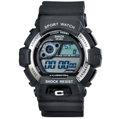 Гаджет   SanDa 310 Military LED Watch Water Resistant Muliti - function Watches for Outdoor Sports Sports Watches