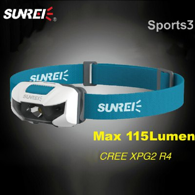 SUNREE Sports 3 Cree XPG2-R4 LED Headlamp