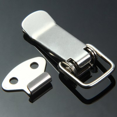 ФОТО JS - D105 Polish Spring Stainless Steel Material Hasp Lock Toggle Latch