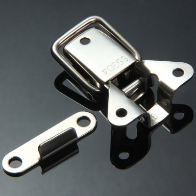 ФОТО JS - D119 Stainless Steel Material Hasp Lock Toggle Latch