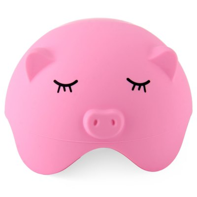 Multifunctional Pig Shaped Silicone Suction Stand Wire Storage