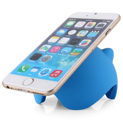 Multifunctional Pig Shaped Silicone Suction Stand Wire StorageStands &amp; Holders<br>Multifunctional Pig Shaped Silicone Suction Stand Wire Storage<br><br>Compatibility: iPad Air, iPod series, iPad, iPad 5, LG, Sony, iPad Mini 2, Nokia, Tablet PC, iPhone 6, HTC, iPhone 4/4S, Universal, iPhone 6 Plus, Blackberry, iPhone 5/5S, Galaxy Note 4, Samsung<br>Type: Sucker Stand, Mobile Holder, Stand<br>Material  : Silicone<br>Features: Cartoon<br>Color: Pink, Blue, Green<br>Product weight: 0.068 kg<br>Package weight: 0.170 kg<br>Product size (L x W x H): 9 x 6 x 6 cm / 3.54 x 2.36 x 2.36 inches<br>Package size (L x W x H): 10 x 9 x 9 cm / 3.93 x 3.54 x 3.54 inches<br>Package Contents: 1 x Suction Stand