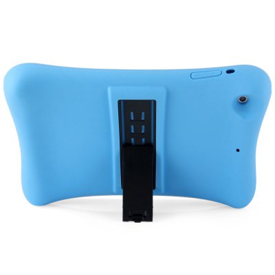 Silicone Material Back Cover Case with Adjustable Stand for iPad Mini 1 2 3