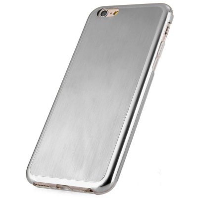 Фотография TPU Stainless Steel Dual Protection Brushed Back Cover Case for iPhone 6  -  4.7 inches