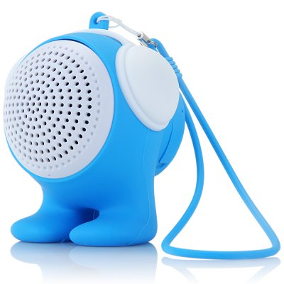 ФОТО Bluetooth 3.0 Stereo Speaker with Mic Volume Control Handsfree Hang Rope