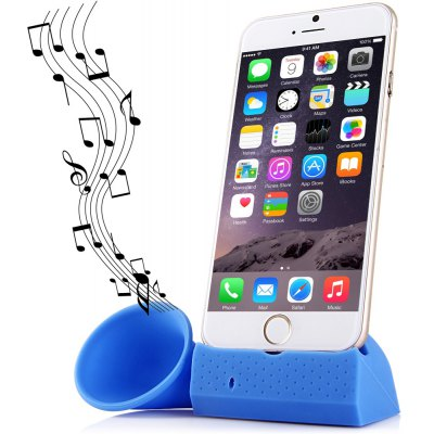 Fashionable Horn Phone Holder Silicone Bracket for iPhone 6 5 5S 5C 4 4S