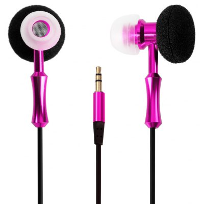 Novelty 1.2m Round Cable In - ear Earphone 3.5mm Jack Headphone of Both Sides Handset Design