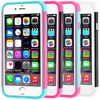 ФОТО Link Dream Contrast Color PC and TPU Material Back Case for iPhone 6  -  4.7 inches