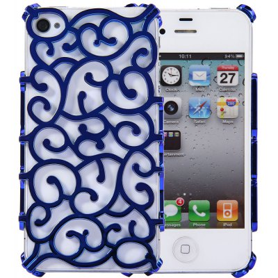 Plastic Material Back Cover Case for iPhone 4 / 4S
