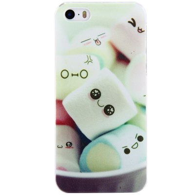 ФОТО Protective Back Cover Case with Marshmallow Design for iPhone 5 / 5S