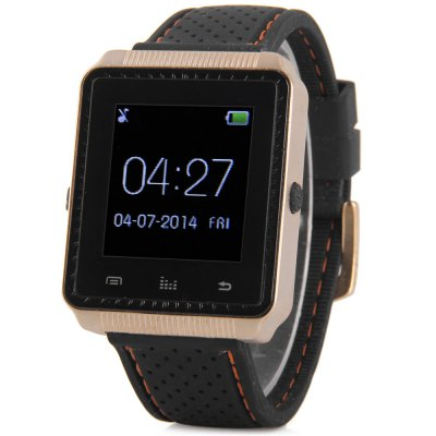 ФОТО X - WATCH W01 Smart Bluetooth 3.0 Watch Message Dialer Music Anti - lost