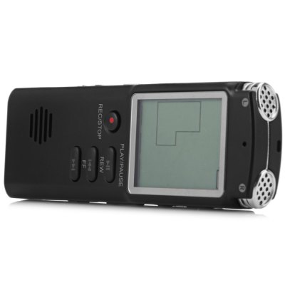 Фотография T60 8GB Handheld LCD Real Time Display Digital Voice Recorder MP3 Player for Interview