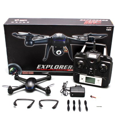 ФОТО DM007 2.4GHz 4 CH RC Quadcopter 6 Axis Gyro Explorer UFO with LCD Remote Control