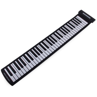 MD61S 61 Keys USB MIDI Electronic Roll Up Pinao Kit Support Windows Mac SystemKeyboard Instruments<br>MD61S 61 Keys USB MIDI Electronic Roll Up Pinao Kit Support Windows Mac System<br><br>Model: MD618S<br>Product Weight: 0.740 kg<br>Package Weight: 1.1 kg<br>Product Size (L x W x H): 94 x 18.5 x 1.6 cm / 36.94 x 7.27 x 0.63 inches<br>Package Size (L x W x H): 33 x 19 x 6.5 cm / 12.97 x 7.47 x 2.55 inches<br>Package Contents: 1 x USB MIDI Piano, 1 x USB Cable, 1 x CD, 1 x English / Chinese Manual