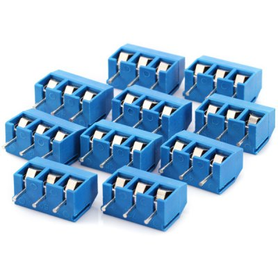 10pcs 3P Connection Adapter Connector