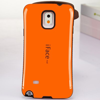iFace mall PC and TPU Material Back Case for Samsung Galaxy Note 4 N9100